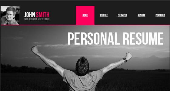 طراحی وب شخصی